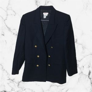 Talbots Blazer in Navy Blue with Gold Buttons